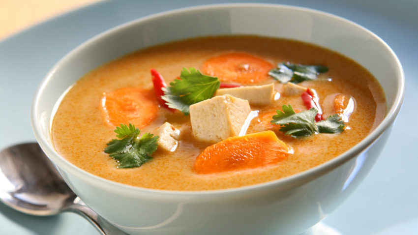 Image for Budget Cooking: Red Curry Soup
