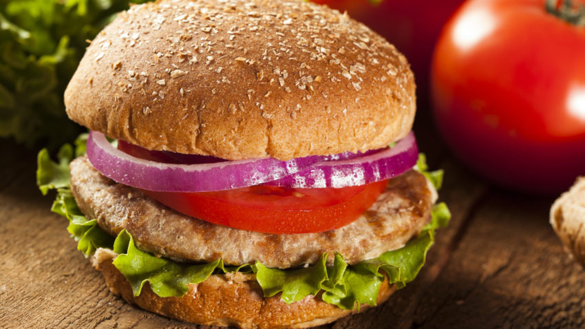 Image for Grilled Turkey Burgers