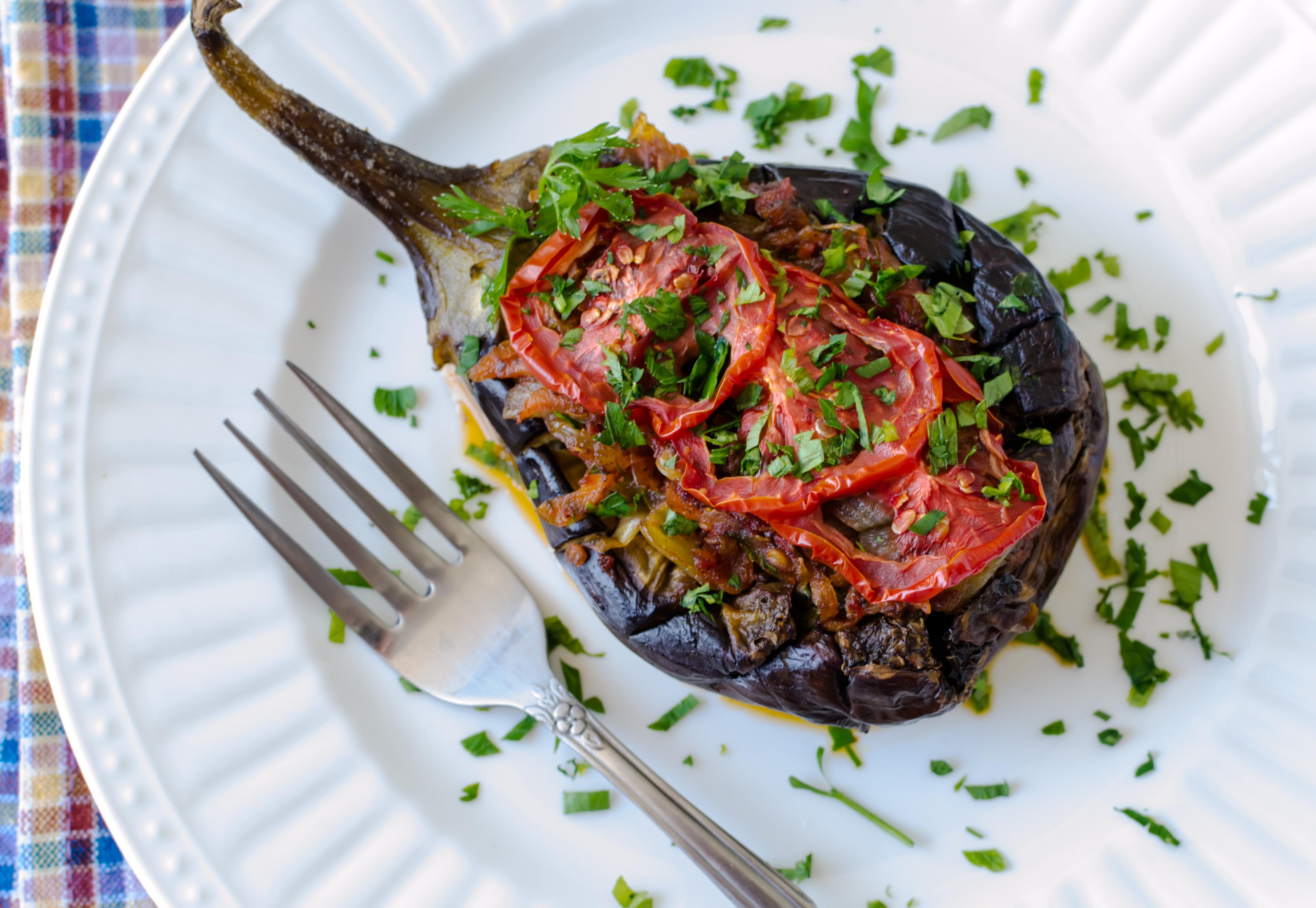 Image for Stuffed Eggplant with Lamb