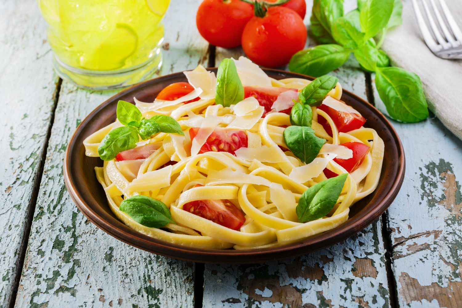 Image for Fettuccine with Creamy Tomato Sauce