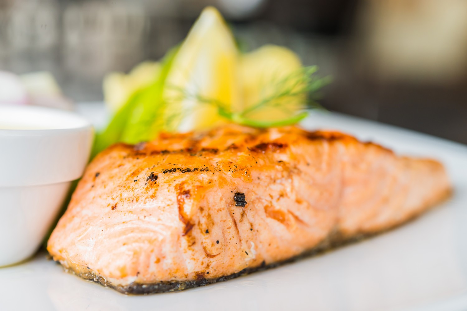 Image for Grilled Salmon with Lime Marinade