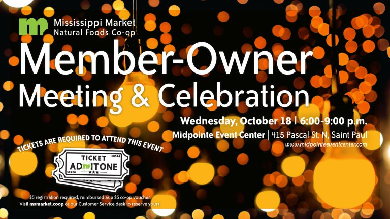Image for Annual Member-Owner Meeting & Celebration