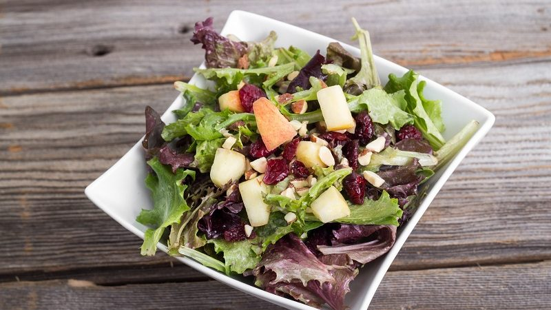 Image for Apple & Almond Salad
