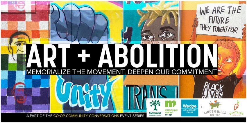 Image for Co-op Community Conversations: Art + Abolition