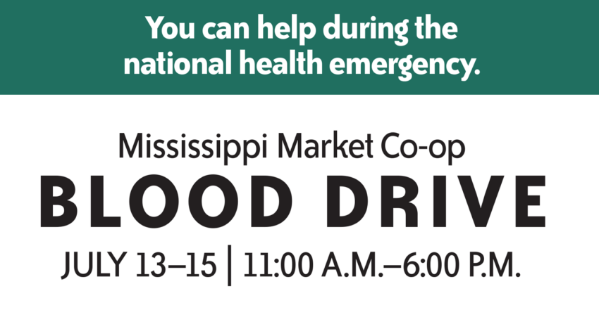Image for Mississippi Market Co-op Blood Drive