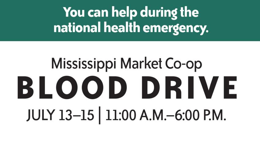 Image for Mississippi Market Co-op Blood Drive
