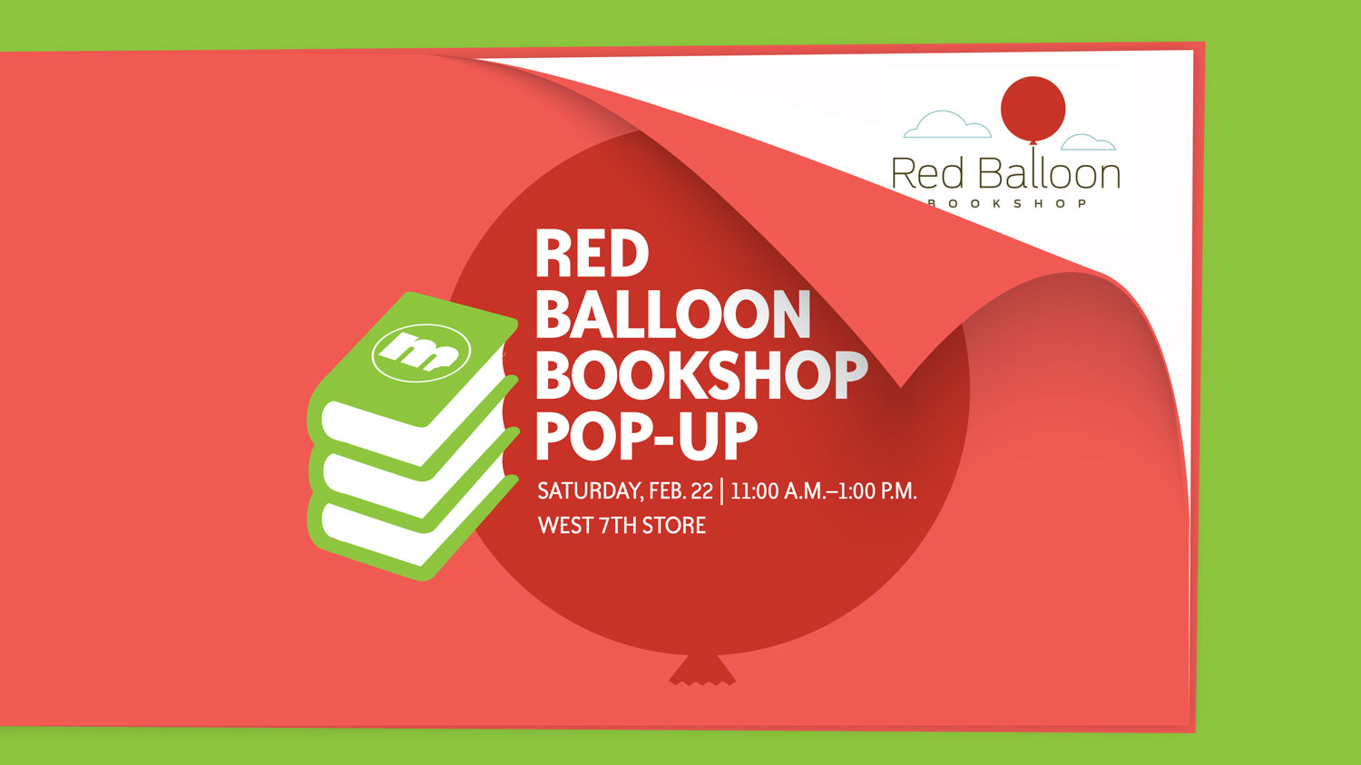 Image for Red Balloon Bookshop Pop-Up
