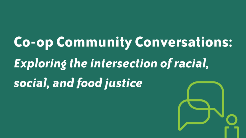 Image for Co-op Community Conversations: Save the Date