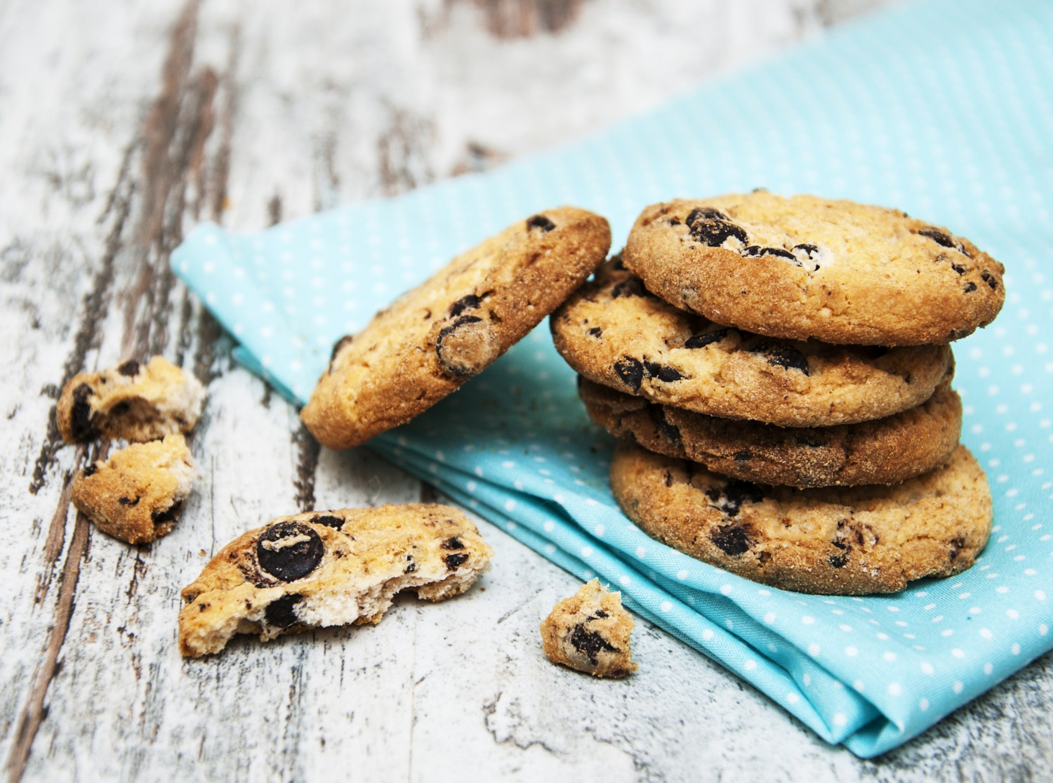 Image for Paleo Coconut Flour Chocolate Chip Cookies