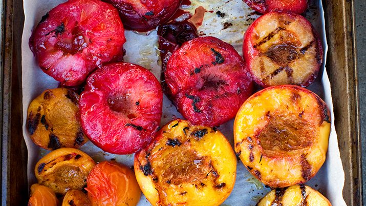 Image for Summer Dishes with Stone Fruits