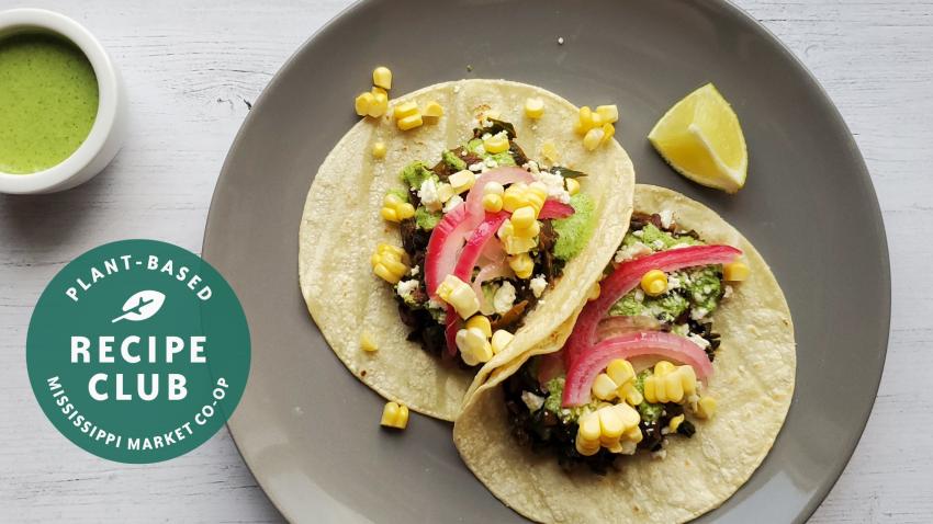 Image for Smoky Kale & Black Bean Tacos