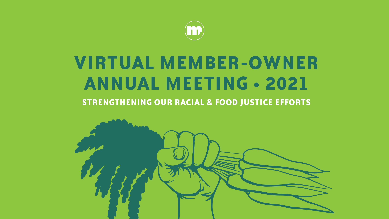 Image for 2021 Virtual Annual Member-Owner Meeting
