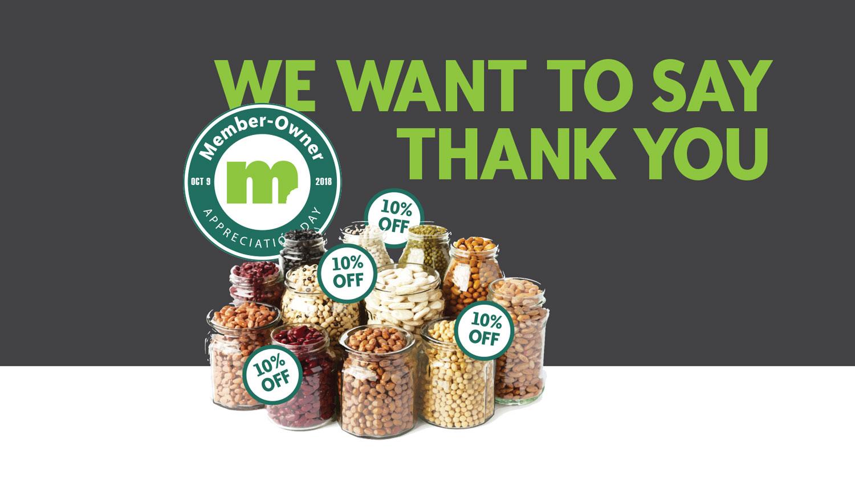 Image for 2018 Member-Owner Appreciation Day Bulk Sale