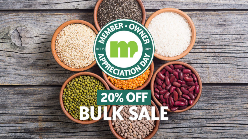 Image for Member-Owner Appreciation Day: Bulk Sale
