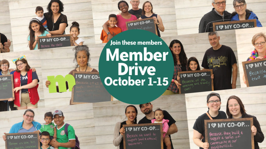 Image for Fall Member Drive