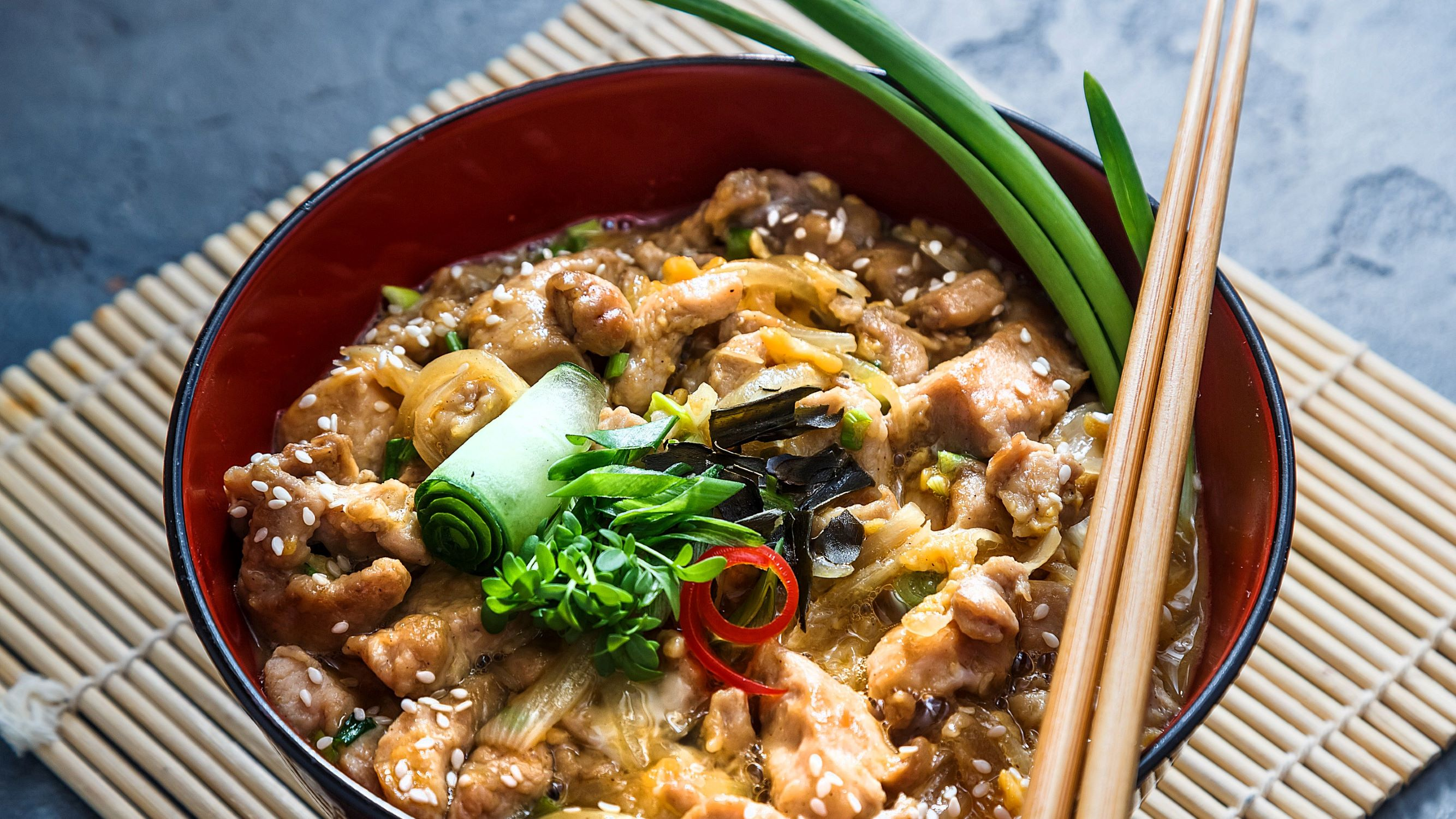 Image for Japanese Cooking: Oyakodon
