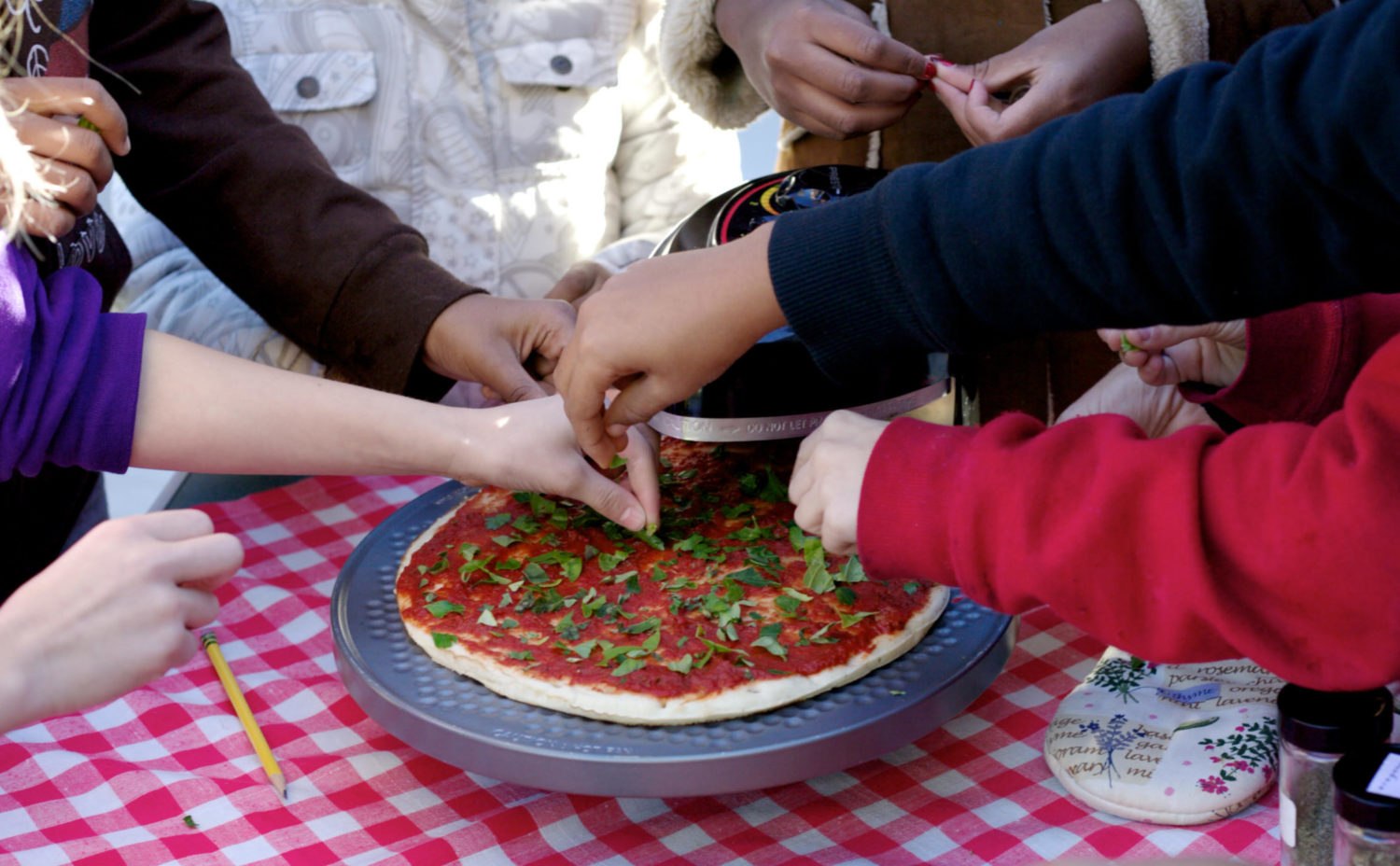 Image for Virtual Class – Kids' Cooking: Make a Pizza!