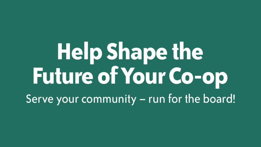 Image for Shape your Co-op's Future