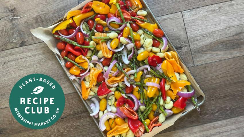 Image for Sheet Pan Gnocchi & Veggies