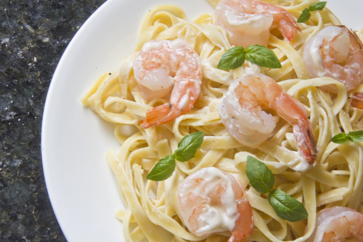 Image for Creamy Fettuccine with Shrimp