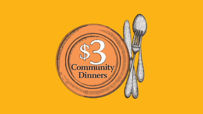 Image for $3 Community Dinners