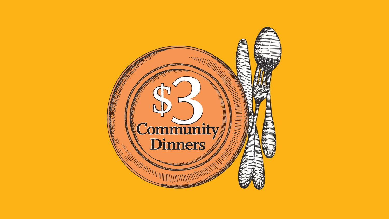 Image for August $3 Community Dinner