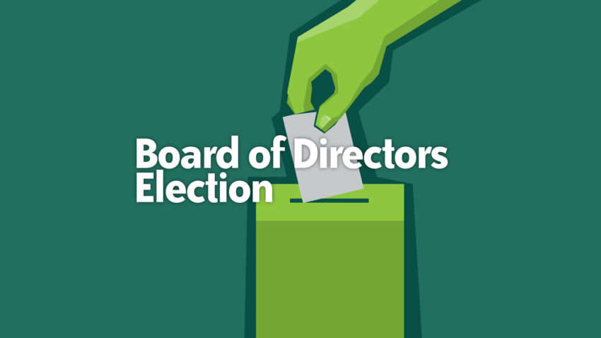 Image for Vote for New Board Leaders