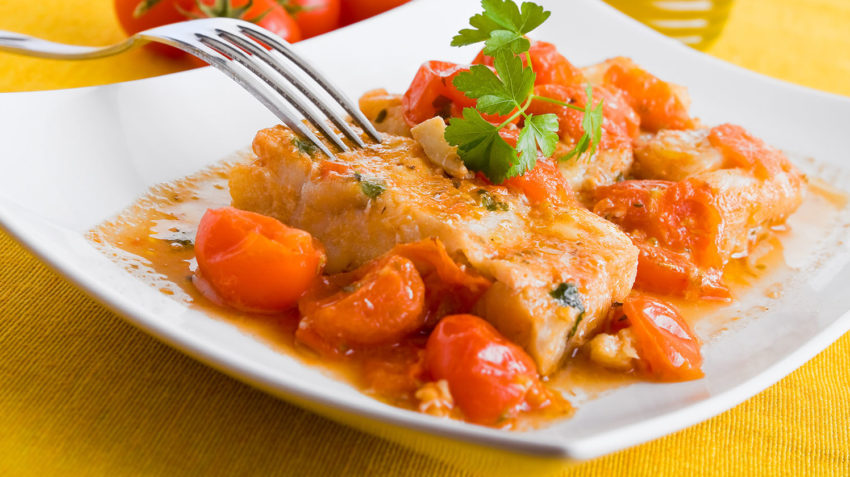 Image for Baked Cod with Chorizo