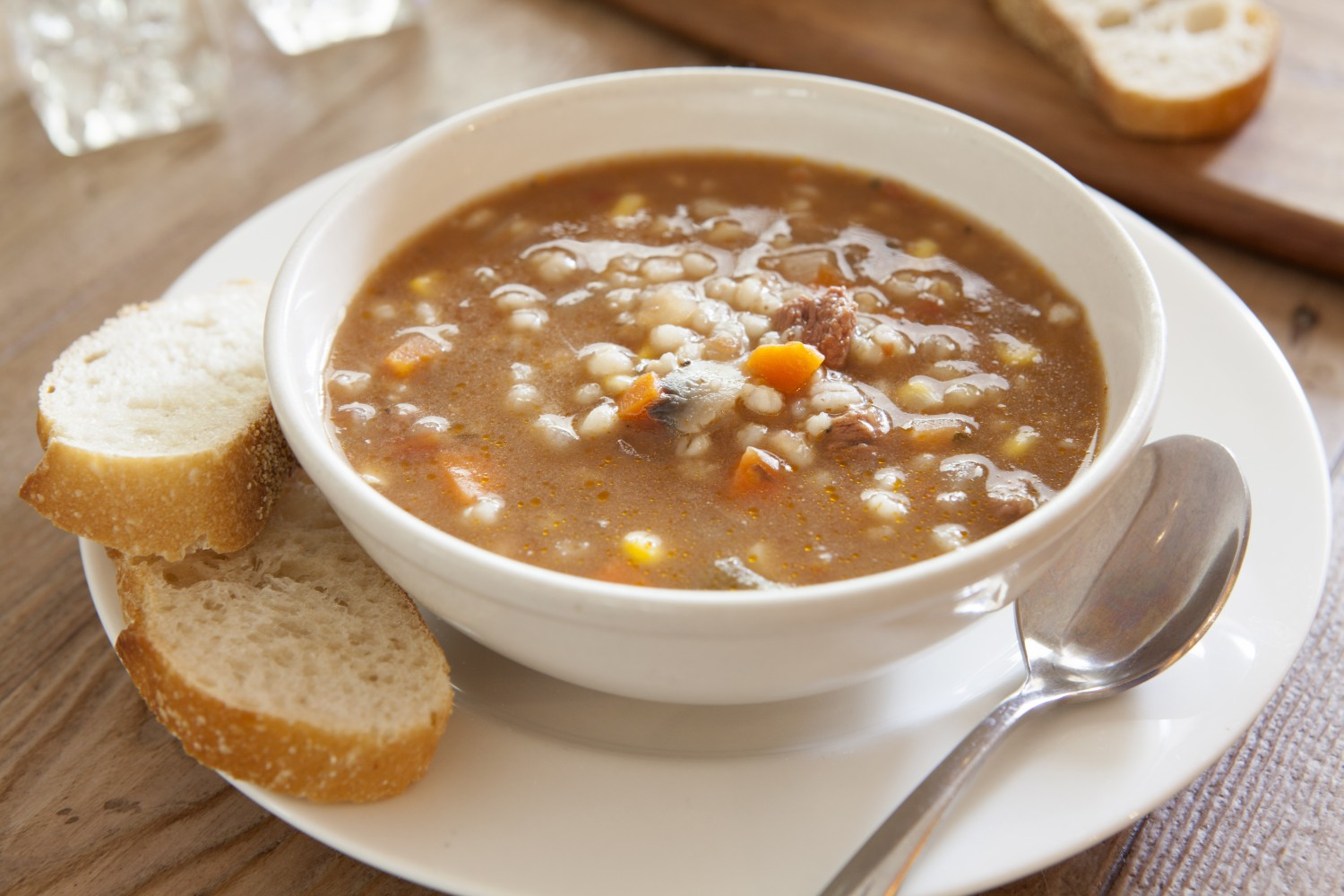 Image for Beef & Barley Soup