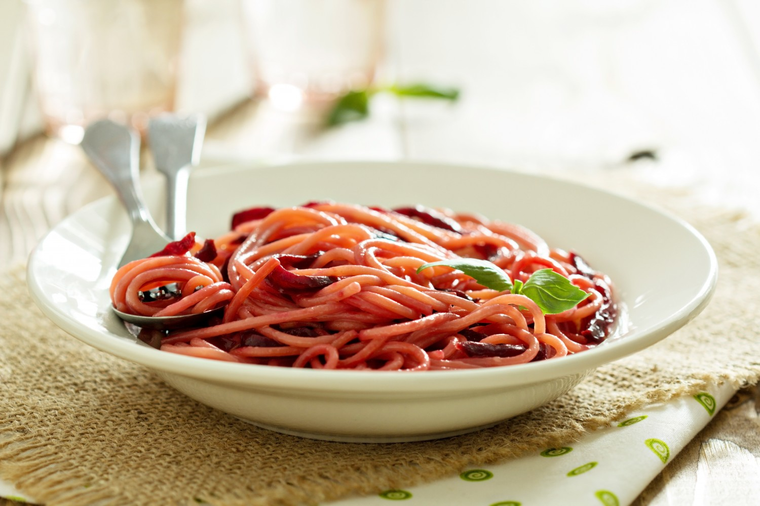 Image for Roasted Beetroot Pasta