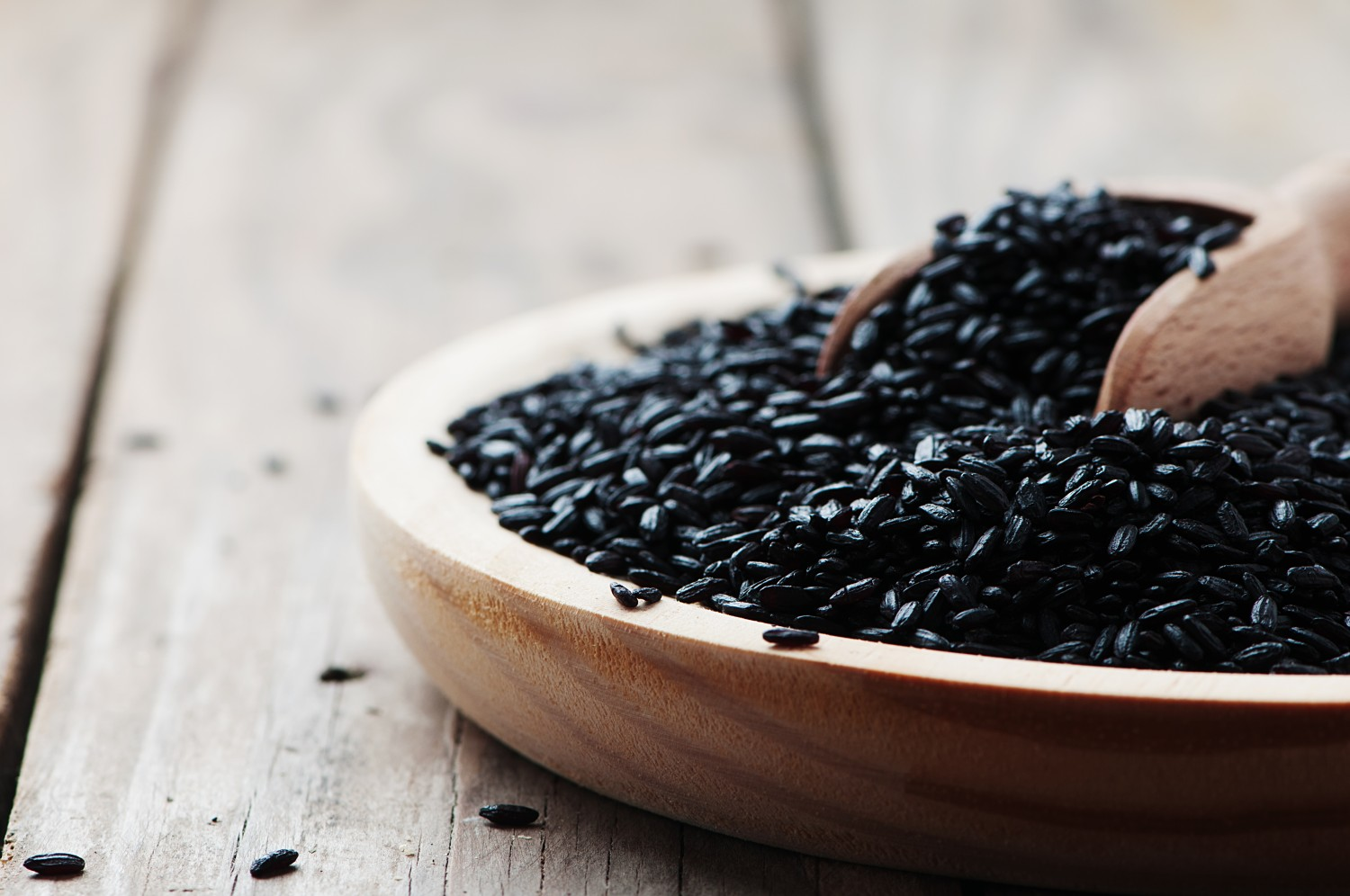 Image for Black Rice with Mushroom Hash