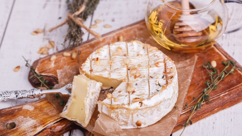 Image for Baked Brie with Honey