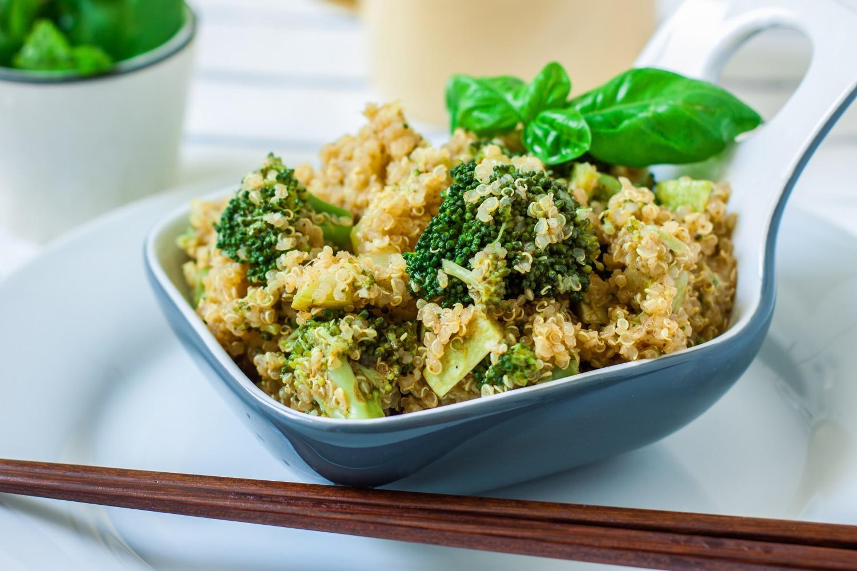 Image for Caramelized Onion, Mushroom  & Broccoli Quinoa