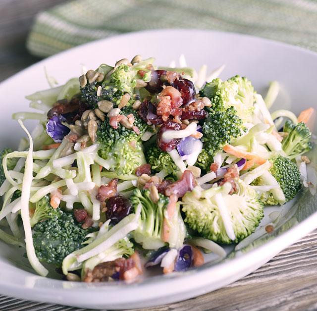 Image for Broccoli Bacon Salad
