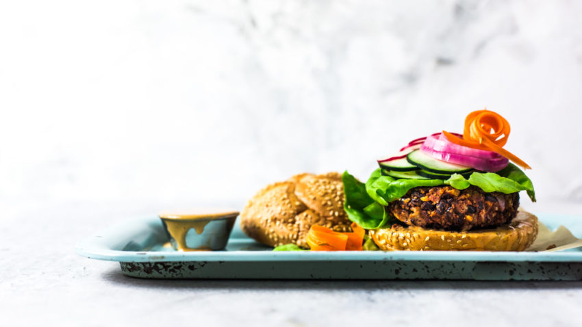 Image for Homemade Veggie Burgers