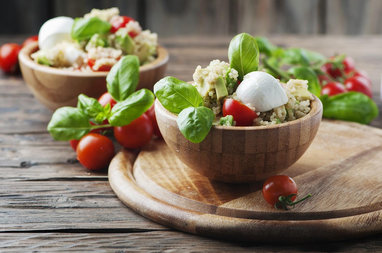 Image for Caprese Quinoa Salad