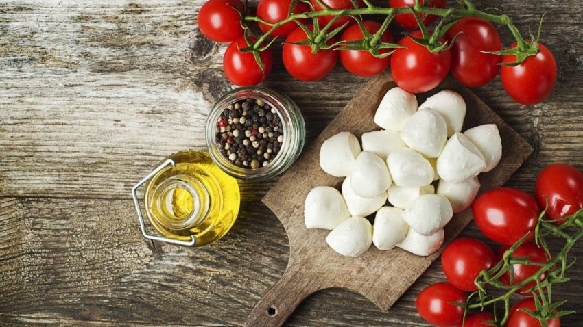 Image for Grilled Caprese Salad