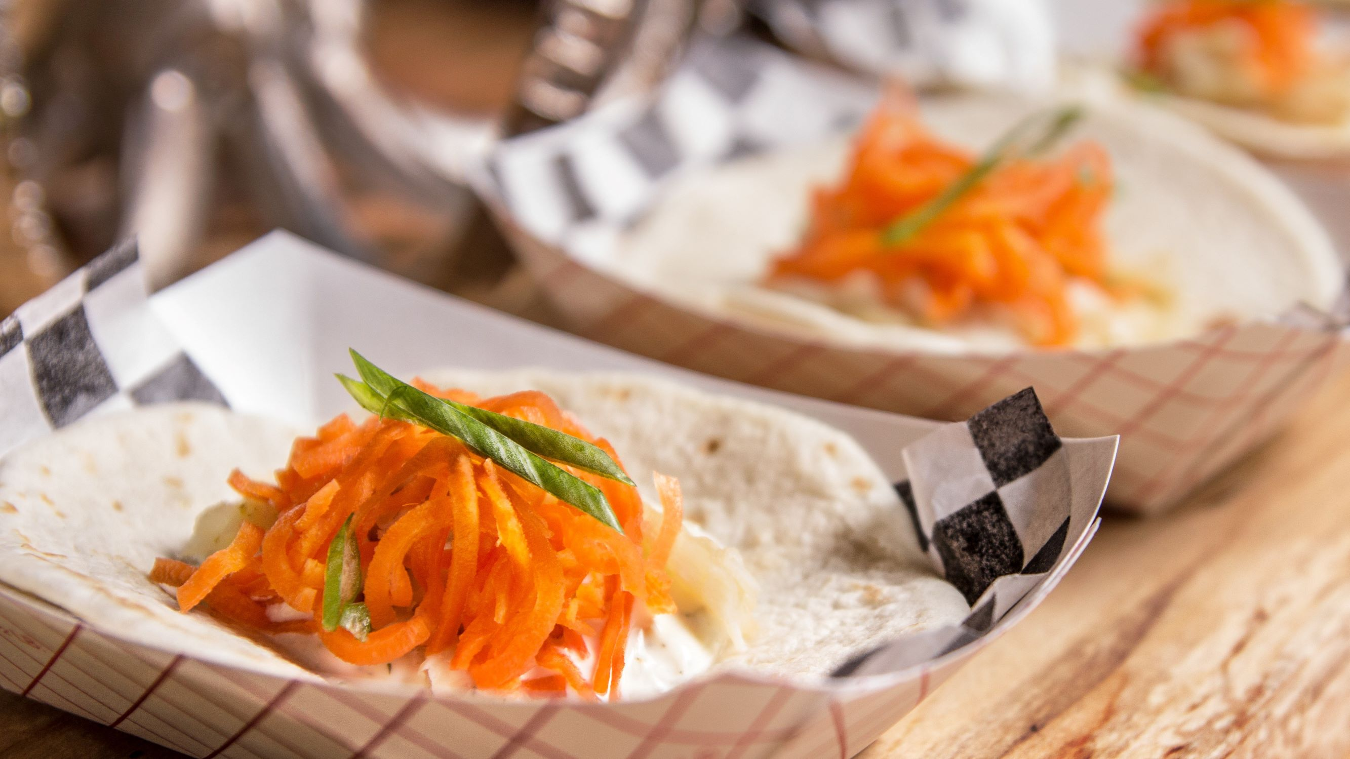 Image for Budget Cooking at the Co-op: Roasted Carrot & Poblano Tacos