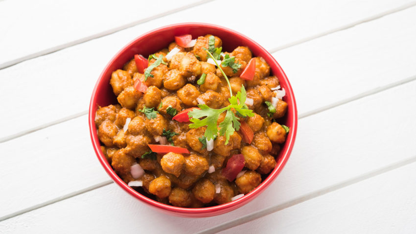 Image for Chickpea Masala with Rice