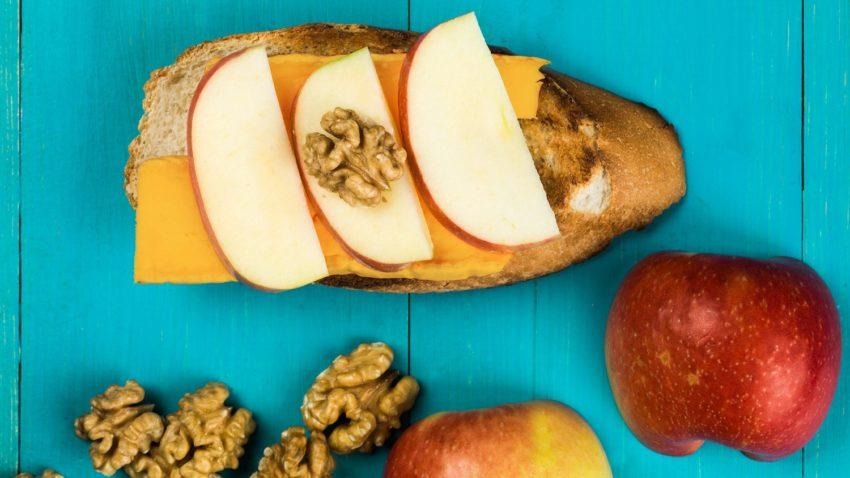 Image for Apple & Cheese Bruschetta