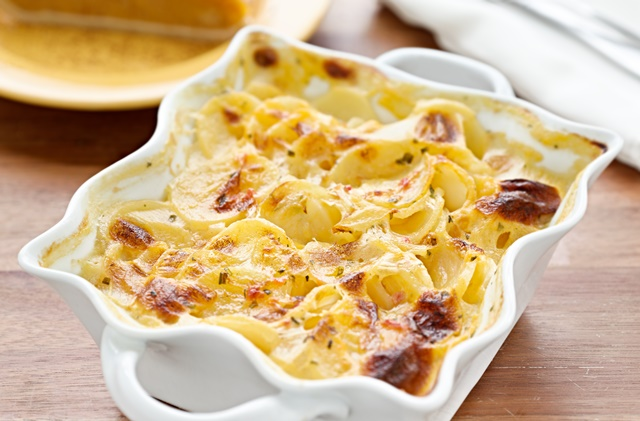 Image for Aged Cheddar Scalloped Potatoes