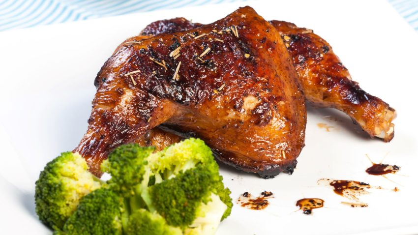 Image for Budget Cooking at the Co-op: Balsamic Roasted Chicken Thighs & Broccoli
