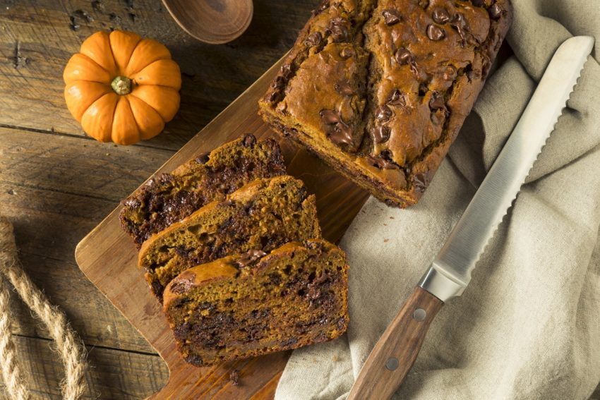 Image for Vegan Pumpkin Chocolate Chip Bread