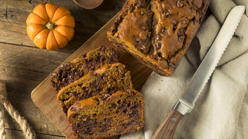 Image for Vegan Pumpkin Chocolate Chip Bread