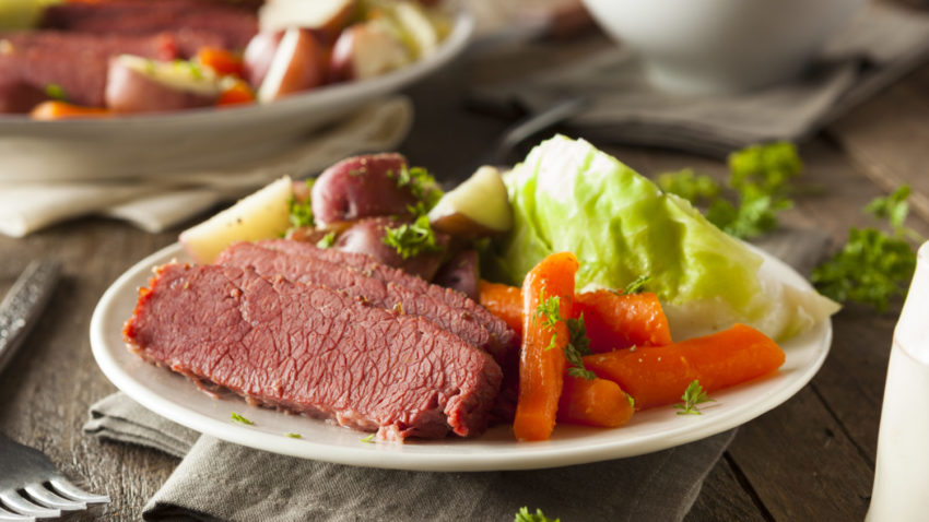 Image for Corned Beef & Cabbage