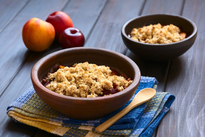 Image for Nectarine Crisp