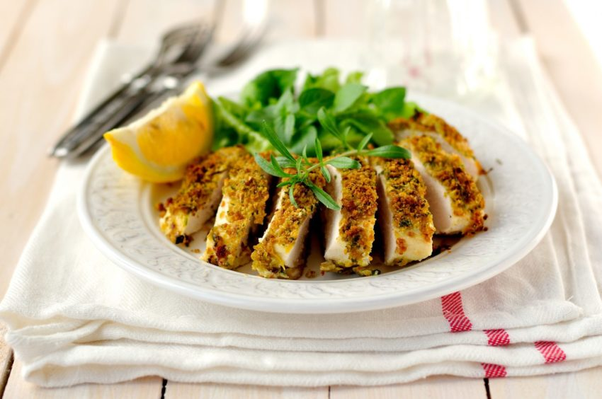 Image for Almond Crusted Chicken Breasts