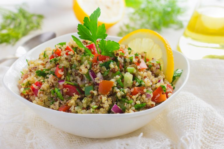 Image for Cucumber and Tomato Quinoa Salad