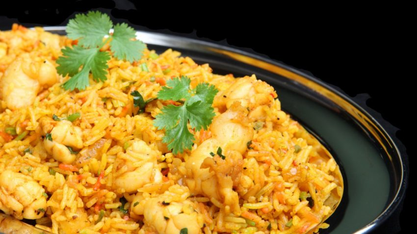 Image for Achiote Chicken Thighs and Rice