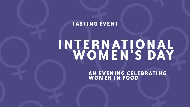 Image for International Women's Day Tasting Event